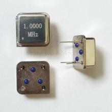 10 шт. в линии активный кварцевый генератор часы квадратный половина размера DIP-4 OSC 1 м 1 МГц 1,000 м