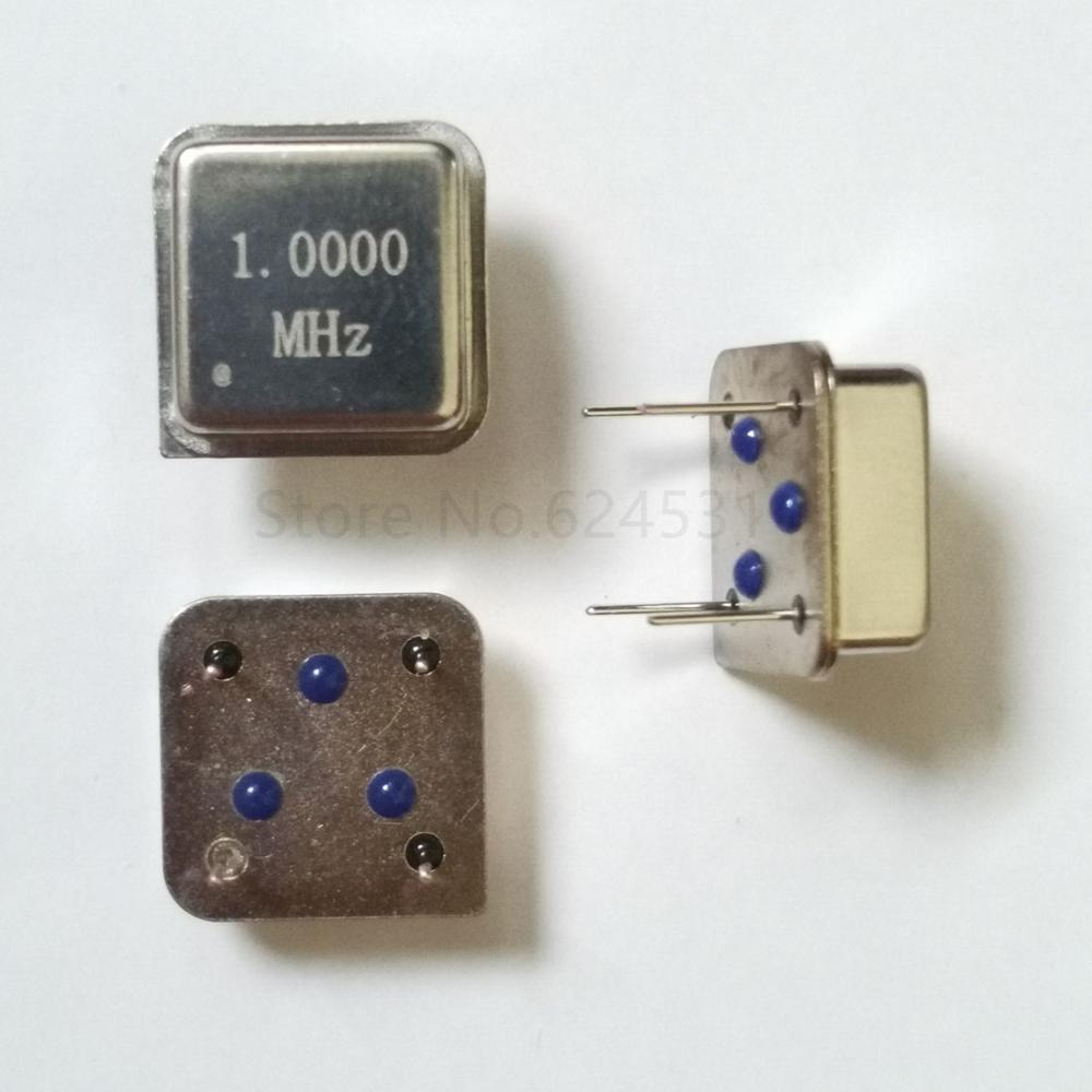 10pcs 1M 1MHZ 1.000M In-line Active Crystal Oscillator Clock Square Half Size DIP-4 OSC