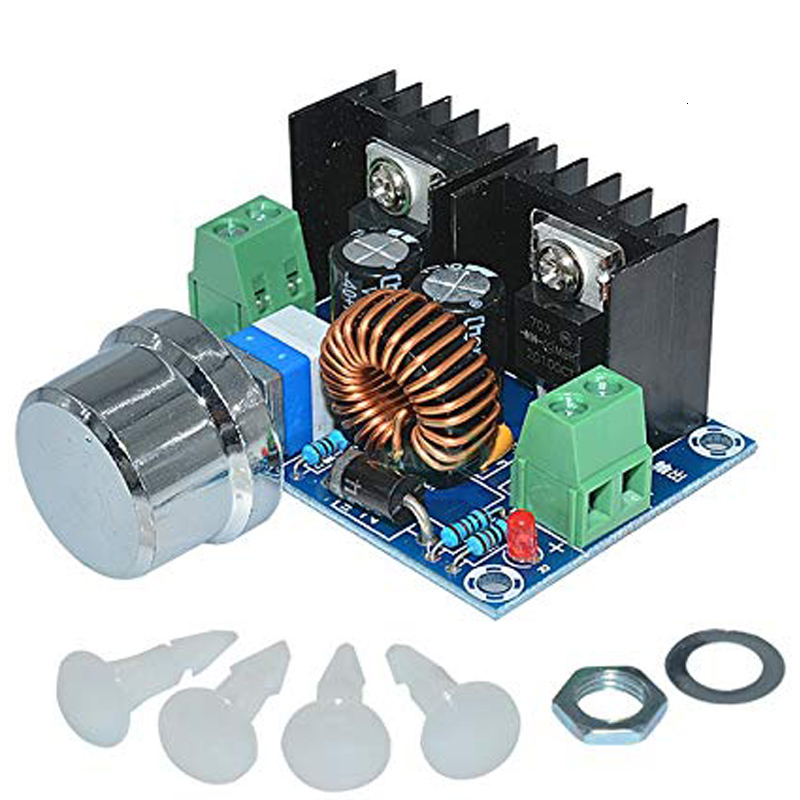 Dc Step Down Voltage Power Module Pwm Adjustable 4-40v To 1.25-36v Step-down Board 8a 200w Buck Converter Power Supply Xl4016