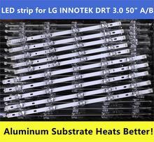 Nuovo 10 Pz/set Striscia di Retroilluminazione a Led di Ricambio per LG 50LB650V Innotek Ypnl Drt 3.0 50 Un B 6916L 1736A 1735A 1978A 1979A LC500DUE