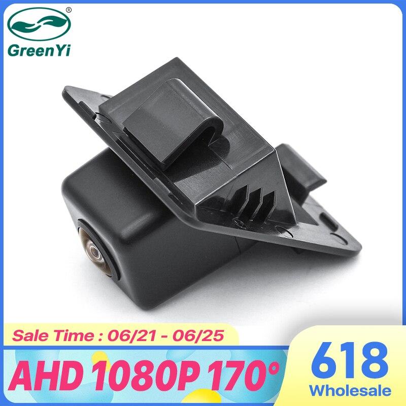 GreenYi 170 градусов 1920*1080P HD AHD ночное видение Автомобильная камера заднего вида для Mercedes Benz W204 W212 W221 S класс