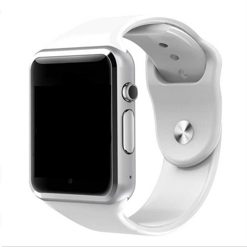 A1 Smart Watch Sport Jam Tangan dengan Layar Sentuh Kamera Mendukung SIM TF Card Bluetooth Smartwatch untuk Xiaomi Huawei Android Phon