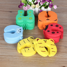 Security-Card Door-Stopper Baby Safety Child Cute 5pcs/Lot Lock Animal Newborn-Care Hot-Sale