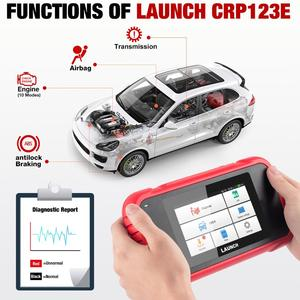 Image 2 - Launch X431 CRP123 CRP123E OBD2 Auto Scanner Support ABS/SRS/GearBox/Engine System CRP 123 OBD 2 Diagnostic Tool Update free