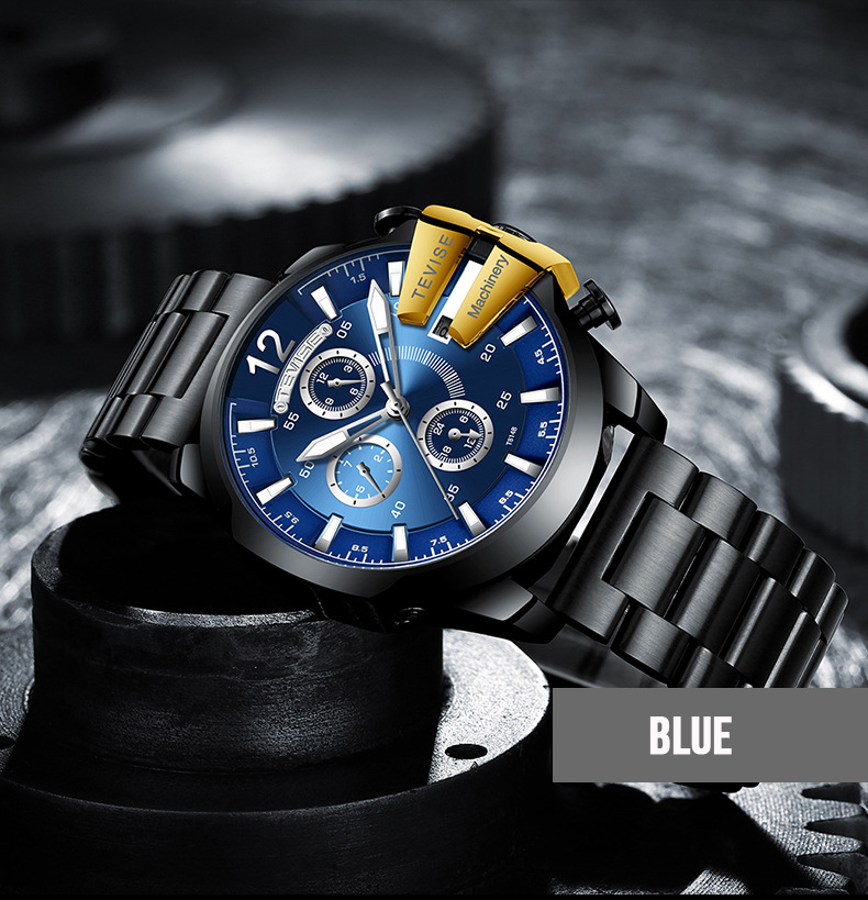 TEVISE Brand Watches Waterproof