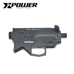 XPOWER BD556 receptor M4 Airsoft accesorios AEG gel de nylon Blaster Paintball equipo de deporte al aire libre
