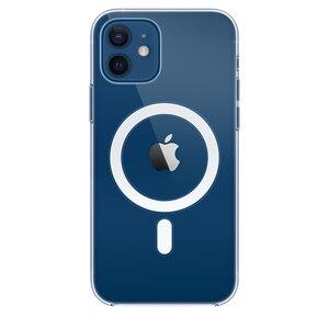 Image 1 - מגנט מקרה ברור עבור iPhone 12 מיני 11 פרו מקס 12Pro X XS XR iPhone12 מגנטי מקורי יוקרה מותג היברידי אקריליק קשה כיסוי