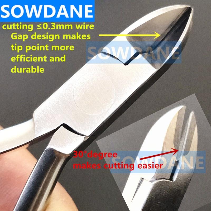 Dental Orthodontic Ligature Pin Light Wire Cutter Plier Dentist Wire Cutting Forcep Instrument Denti