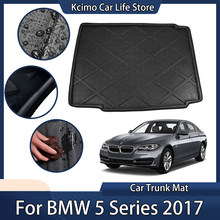 For BMW 5 Series 2017 Car Accessories Rear Boot Liner Trunk Cargo Mat Floor Tray Carpet Protector Pad
