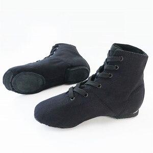 Image 3 - ใหม่สีดำสำหรับผู้ใหญ่ JAZZ รองเท้าเต้นรำเด็กแจ๊สเต้นรำ BOOT
