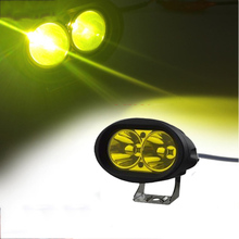 1PCS 20W Yellow Marine Spreader Light LED Deck Mast Light Flood Beam For Boat 12v-30v DC