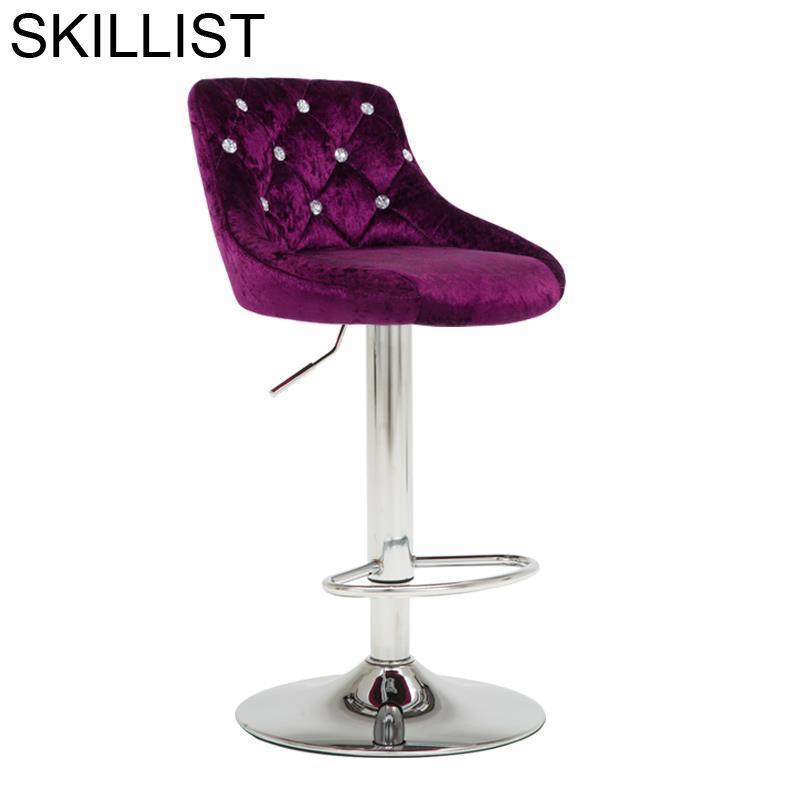 Sgabello Sedia Tabouret Comptoir Fauteuil Barstool Stoel Taburete De La Barra Stoelen Silla Cadeira Stool Modern Bar Chair