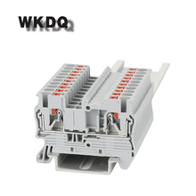 10pcs PT 2.5  PHOENIX Type Universal Push In Connection Din Rail Terminal Block  800V, 31A , 24-12AWG , Connector цена