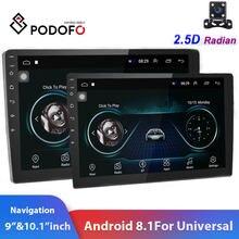 Podofo 2din Auto Radio 9