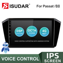 Car-Radio Multimedia ISUDAR No-2din Volkswagen/passat V57S 32G Android for B8 GPS DVR