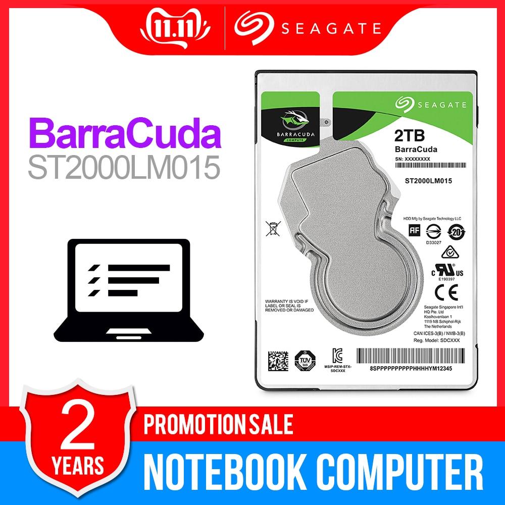 Seagate 2TB 2.5inch Internal HDD Notebook Hard Disk Drive 7mm 5400RPM SATA 6Gb/s 128MB Cache 2.5