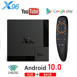 Приставка Смарт-ТВ X96 Mate, Android 2020, Allwinner H616, 4 ядра, 10,0 ГГц, Wi-Fi, Bluetooth, 4K