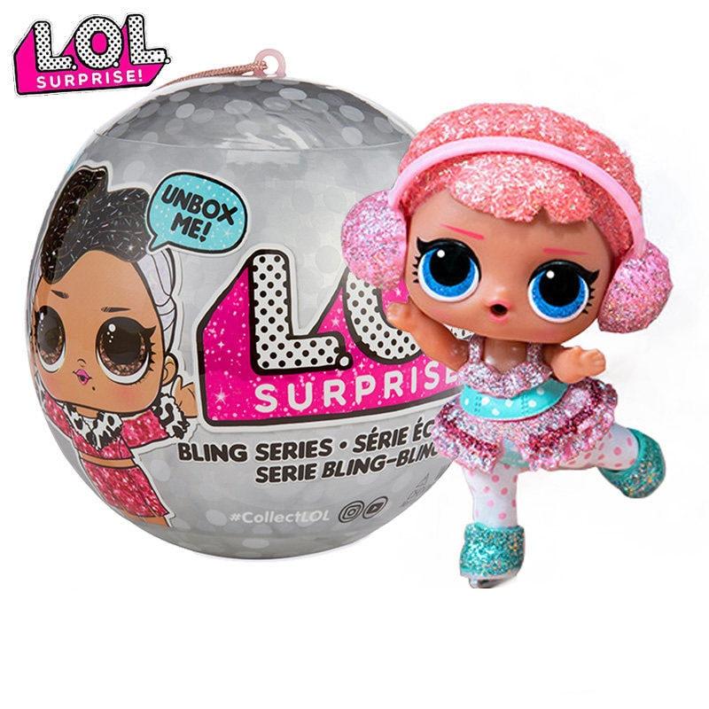 L O L Kejutan Baby Doll Mainan Boneka Lol Kejutan Bola Mainan Kejutan Gadis Mainan Untuk Anak Anak Anak Hadiah Android Gambar 10 Cm Boneka Aliexpress