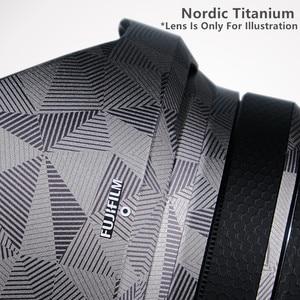 Image 3 - عدسة لصقة جلد صناعي ملصق ل فوجي XF10 24 F4 R حامي المضادة للخدش معطف التفاف الغلاف