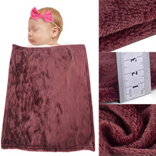 Urijk Brown Soft Baby Sleeping Blankets Throw Kids Blanket Warm Coral Blankets Flannel Beds/Plane/Sofa Cover Sherpa Bedspread(China)