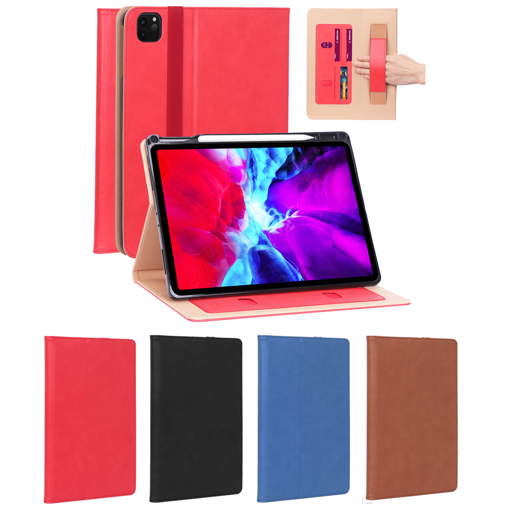 Random Color Gold Fashion Case for iPad Pro 12 9 Case 2020 Leather Tablet Case for iPad Pro 12