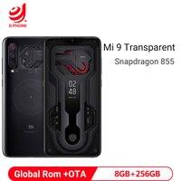 Global Rom Xiaomi Mi 9 MI9 Transparent 8GB 256GB Smartphone Snapdragon 855 6.39 48MP Triple Rear Camera Wireless Charge Phone