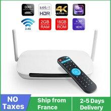 4K Leadcool QHDTV Q9 חכם טלוויזיה תיבת אנדרואיד 9 8GB 16GB RK3229 Quad Core 2.4G WiFi מלא HD מדיה נגן qhdtv leadcool סט top box