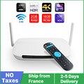 4K Leadcool QHD TV Q9 Smart tv приставка Android 9 8 Гб 16 Гб четырехъядерный процессор RK3229 2,4G WiFi FULL HD медиаплеер qhd tv leadcool приставка