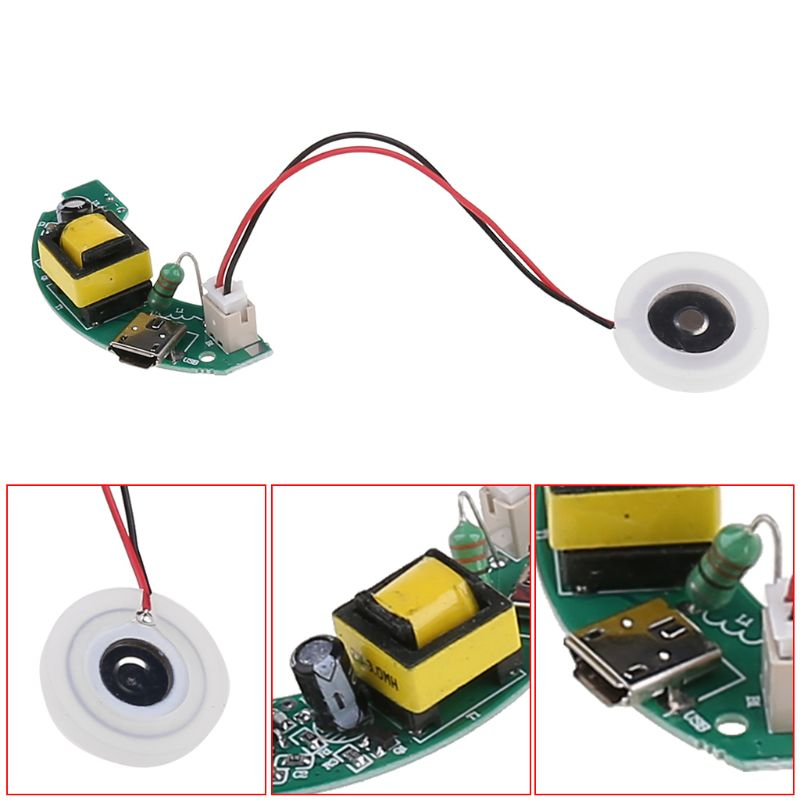 USB USB Mini Humidifier DIY Kits Mist Maker And Driver Circuit Board Fogger Atomization Film Atomizer Sheet Mini Oscillating