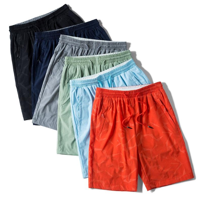 Plus Size Summer Short Casual Shorts Men Quick Dry Sportswear Gym Shorts Male Loose Beach Shorts 6XL 7XL 8XL