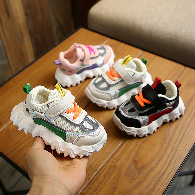 Spring Children's Shoes Children's Sneakers Toddler Shoes Fashion Children's Breathable Casual Shoes|First Walkers| |  - title=
