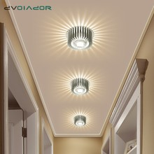 Modern Ceiling Light Colorful Indoor LED Ceiling Lamp 3W wall Sconce for Gallery Balcony lamp Porch light corridor Light Fixture square corridor corridor porch lamp light led crystal ceiling lamp balcony kitchen bathroom home ceiling light zh