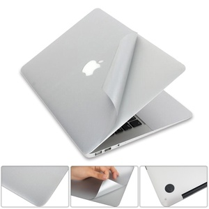 Etiqueta do portátil para macbook 2020 pro 13 a2289 a2251 capa de pele vinil superior & inferior novo ar 13 polegada a1932 retina exibição