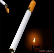 2020 حار جديد (لا الغاز) 1 قطعة إعادة الملء غاز البوتان جت لهب أخف السجائر على شكل يندبروف الرجال هدية