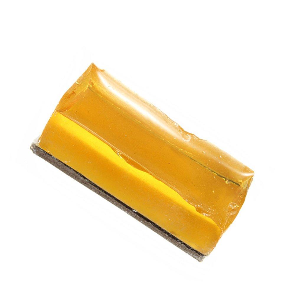 2Pc Small Carton Solid Rosin Soldering Iron Welding Flux Phone PCB BGA Repair High-Class Low Dust Yellow Rosin