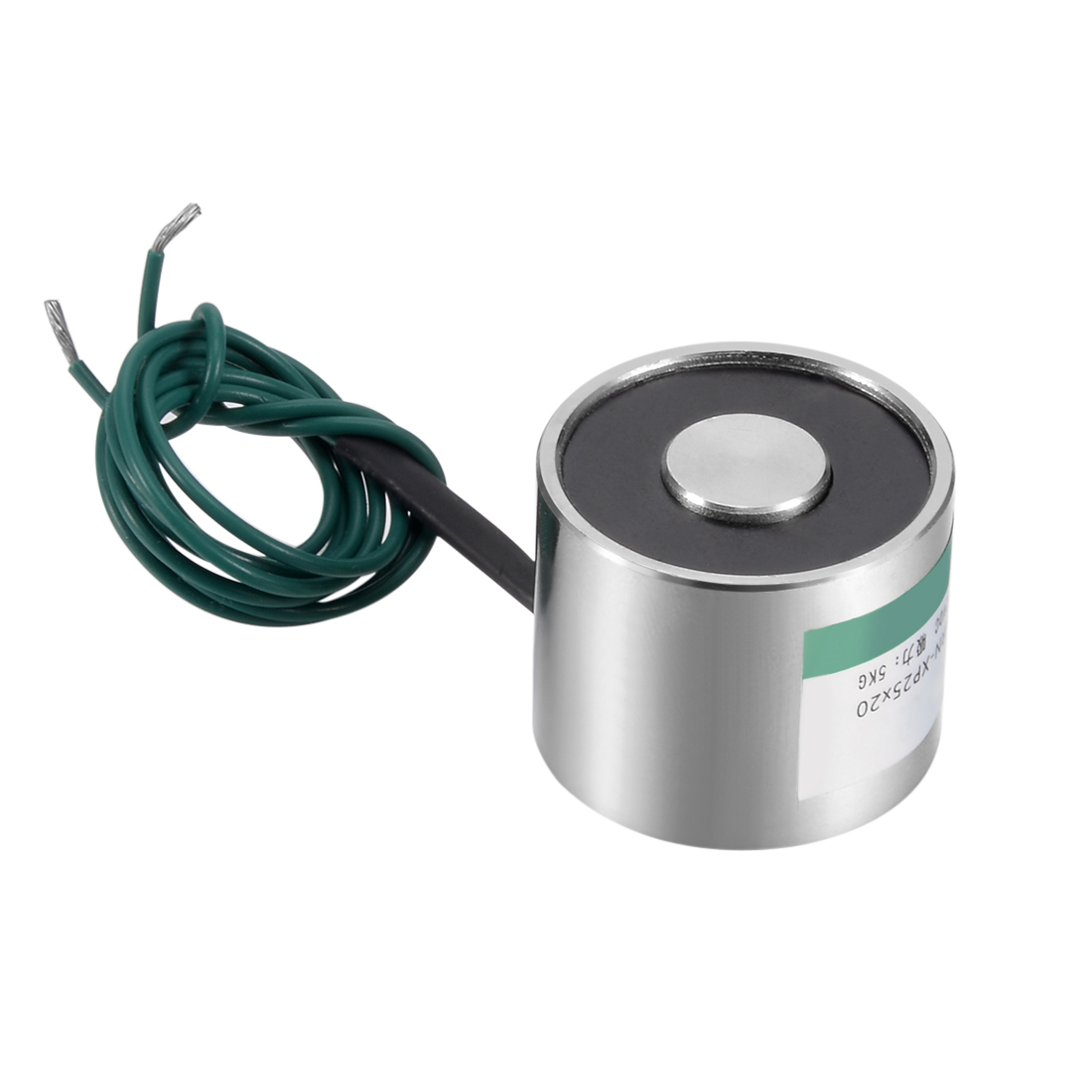 Uxcell 25mm X 20mm DC12V 50N Sucking Disc Solenoid Lift Holding Electromagnet