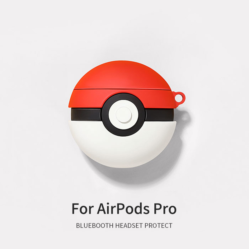 3D Soft Silicone Case for AirPods Pro 9