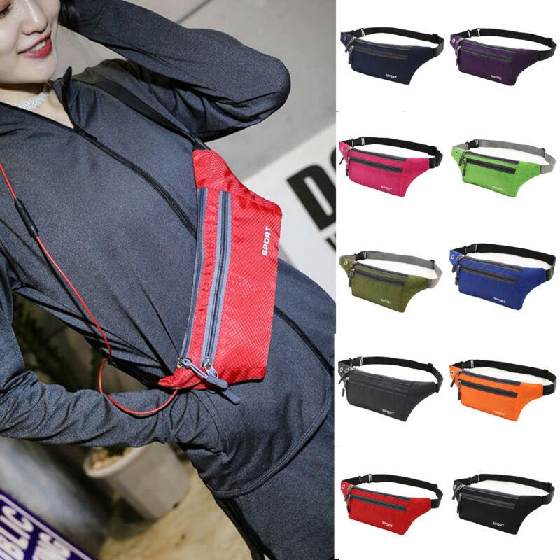 Men Women Sport Waist Pack Fanny Pack Crossbody Wallet Belt Travel Phone Bag New