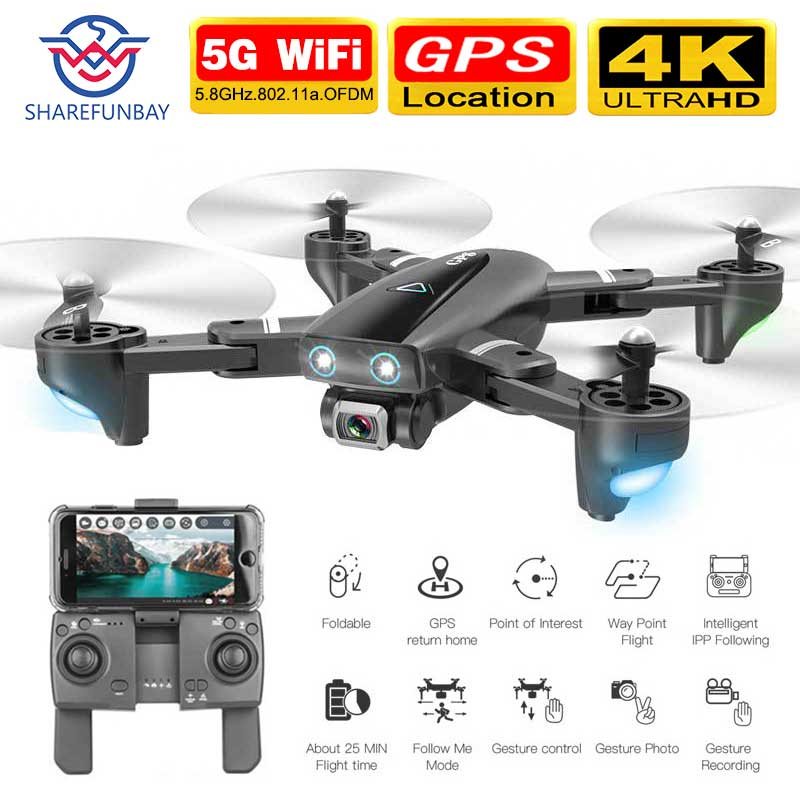 S167 drone GPS 4K HD 1080P 5G WIFI FPV drone flight 20 minutes height to maintain Quadcopter control distance 500m drone camera 1