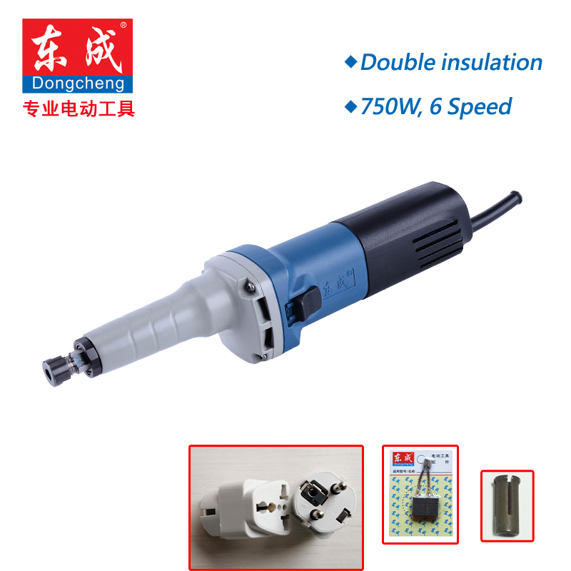 6 Speed Variable Die Grinder  750W Mini Grinder  Max  25mm Mini Sander Polisher Metal 6 Speed 3800-8300Rpm   3mm or 6mm Shank