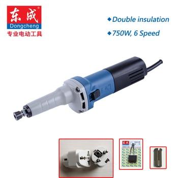 6 Speed Variable Die Grinder. 750W Mini Grinder. Max. 25mm Mini Sander Polisher Metal 6 Speed 3800-8300Rpm. (3mm or 6mm Shank)