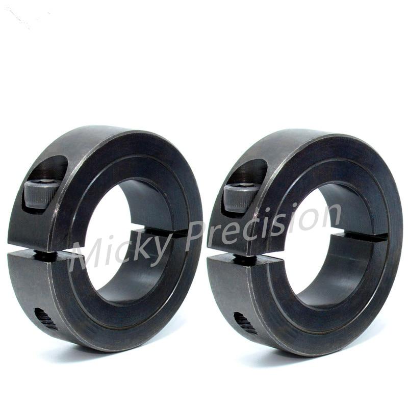 Mask Machine Accessories Slit/Split Standard Type Carbon Steel Shaft Collar Set Collar Shaft Damage From Tightening Avoidable