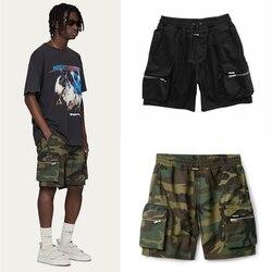 High Street Camouflage Represent Shorts 2020ss Men Women 1:1 Multi Pockets Beach Sportswear Represent Shorts