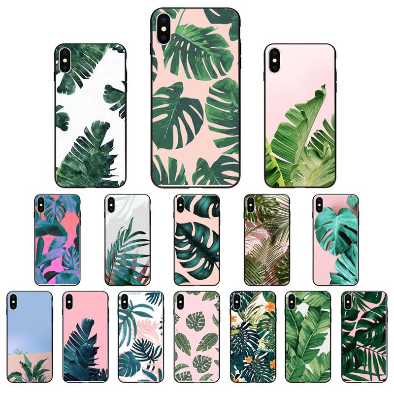 Babaite Tropical Plants Cactus Banana Leaves Hot Phone Case Cover For  iPhone SE2 11 Pro XS MAX XS XR 8 7 6 Plus 5 5S SE Case|Half-wrapped Cases|  - AliExpress