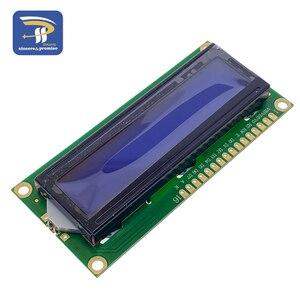 Image 3 - 1602 16 × 2 HD44780 arduinoのキャラクター 5v液晶ブルースクリーン 1602A iic/I2CシリアルPCF8574 インタフェースアダプタプレートモジュールdiyキット