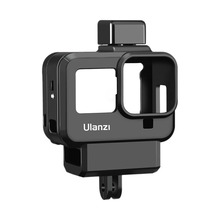 Ulanzi G8 9 Vlog Case for Gopro 8 Cold Shoe Mount 52MM Filter Adapter Ring Battery