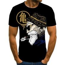 The latest top 3D printed T-shirts hip-hop summer street men's clothing  Harajuku old man T-shirts  hip-hop t-shirts