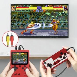 Image 4 - 800 IN 1 레트로 비디오 게임 콘솔 휴대용 게임 휴대용 포켓 게임 콘솔 어린이를위한 미니 핸드 헬드 플레이어 선물