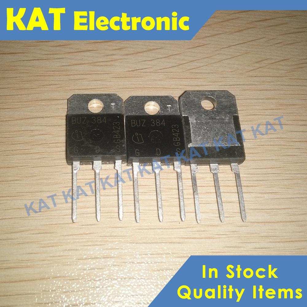 5PCS/lot BUZ384 BUZ 384 500V 10.5A TO-218 SIPMOS Power Transistor