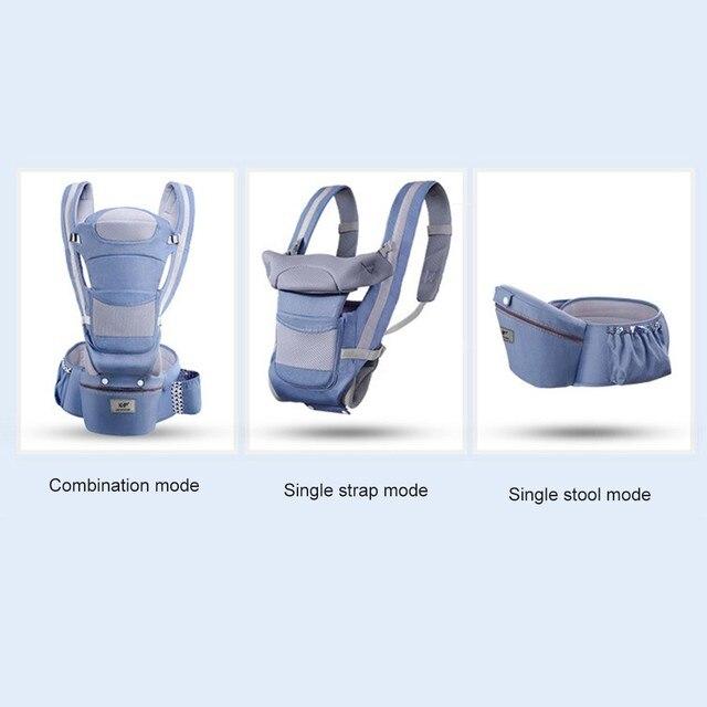 Portabebés ergonómico de 0-48M, portabebés para bebés, portabebés delantero, ergonómico, canguro, eslinga para bebé, para viaje de bebé ZXH